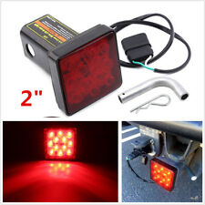 12V 12LED Smoked Lens Car Offroad Trailer 4-Pin Tail Light Brake Lamp Universal