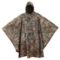 USGI Industries Military Design Multi Use Rip Stop (OCP / Multicam, Rain Poncho)