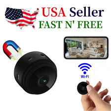 Mini HD  Hidden Wireless Wifi Spy Remote Security Cameras Home DVR Night Vision