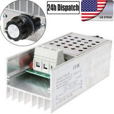 10000W 220V AC SCR Electronic Motor Voltage Regulator Dimmer Speed Controller NJ