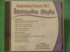 Inspirational Classics~Daywind~Karaoke Style ~ Bridge Over Troubled Water ~ CD+G