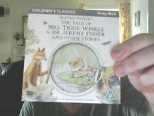 TALE OF MRS TIGGY-WINKLE & MR JEREMY FISHER & OTHERS DVD POTTER FREE UK POST