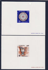 épreuve de luxe timbre France  paire  Europa  1976  num: 1877/78