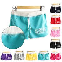 Women Shorts Summer Casual Beach Shorts Sports Shorts Cotton Yoga Shorts Pants