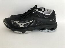 New listing Mizuno Wave Lightning Z4 Womens Size 8 Volleyball Shoes Black Athletic Sneakers