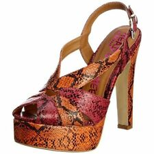 """Dune Women's Very High Heel (greater than 4.5"""") Peep Toes Shoes"""