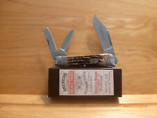QUEEN SCHATT & MORGAN JUMBO CARPENTER WHITTLER KNIFE USA - MIB