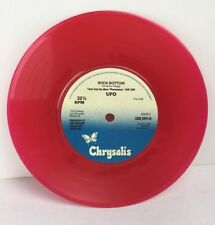 """UFO Only You Can Rock Me CHS 2241-A Coloured Vinyl Red 7"""" 1978 Chrysalis"""