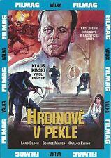 Eroi all'inferno R2 Italian 1974 Klaus Kinski WW2 war film dvd in Italiano