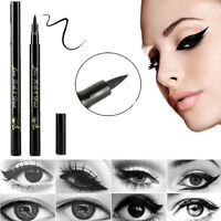 Black Liquid Eyeliner Waterproof Eye Liner Pen Pencil Makeup Beauty Cosmetics