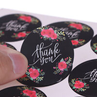 120pcs/lot Flower Thank You Series Round Seal Sticker DIY Gifts Package LabelQ9Q