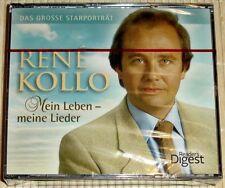 NUOVO, CONFEZIONE ORIGINALE 4-cd-box - René Kollo-la mia vita-le mie canzoni-il grande porta Star