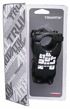 "Truvativ Hussefelt 60mm MTB Stem 0-degree 31.8mm 1-1/8"" DH Black Downhill Bike"