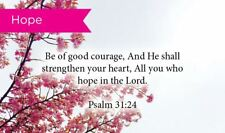 Pass Along Scripture Cards, Courage, Psalms 31:24, Pack 25