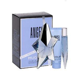 Mugler Angel Gift Set 50ml EDP + 10ml EDP + Body Lotion 50ml