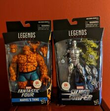 MARVEL LEGENDS FANTASTIC FOUR THE THING  SILVER SURFER WALGREENS EXCLUSIVE
