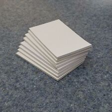 "8 Pads of 40 sheets 3 x 5"" White Scratch / Note Pads"