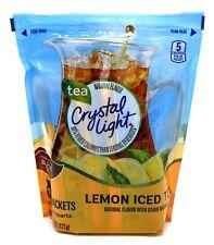 New listing 32-Quart Package Crystal Light Lemon Iced Tea Drink Mix 16 2-Quart Packets