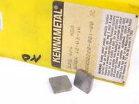 NEW SURPLUS 10PCS. KENNAMETAL  SPG 424  GRADE: K68  CARBIDE INSERTS