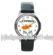 Cyprus/Cypriot/Cyprus Flag UNISEX Watch-Unisex.Great gift.Hurry.Mens & Ladies