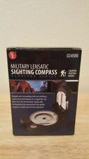 SE CC4580 Military Lensatic Prismatic Sighting Survival Emergency Compass New