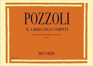Pozzoli - IL LIBRO DEI COMPITI - Fasc. I - Ed. Ricordi