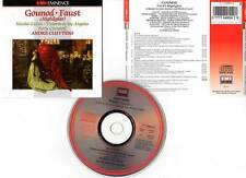 """GOUNOD """"Faust (extraits)"""" (CD) André Cluytens 1989"""