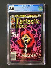 Fantastic Four #244 CGC 8.0 (1982) - Newsstand Edition - 1st app of Nova