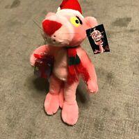 Pink Panther Vintage Plush Christmas Scarf - NWT 1998