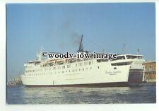 FE0426 - Greek Ferry - Express Olympia , built 1973 ex Viking 4 - postcard