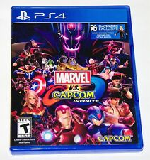 Replacement Case (NO GAME) Marvel vs. Capcom Infinit Playstation 4 Original Box