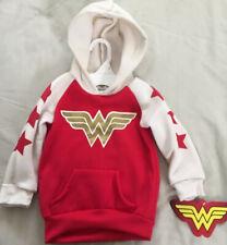 ORG. DC Comics Girls Wonder Woman Sweatshirt Hoodie Toddler Super Girl 2T NWT