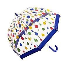 Clifton Childrens Birdcage PVC Raindrops Umbrella