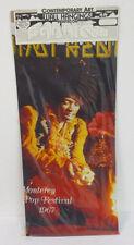 Jimi Hendrix Wall Hanging Polyester Printed Fabric Rock & Roll Band Vintage Vtg