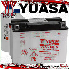 BATTERIA YUASA Y50-N18L-A 20Ah HARLEY DAVIDSON FLHTC Classic Anniversary 1340