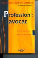 Profession, avocat