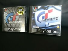 Gran Turismo 1&2 PS1 UK PAL Collection