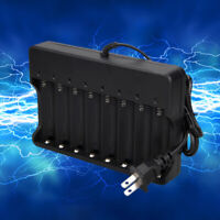 8 Slots 2400mA Smart Battery Charger Universal Intelligent 4.2V for 18650 Li-ion