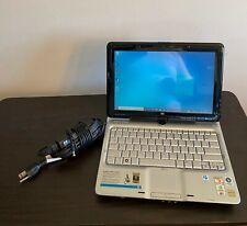 HP Pavilion tx2110us 2 in 1 Black Touchscreen Versatile Tablet Notebook