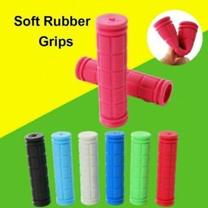 New Soft Bike Hand Grip Handle bar Grips MTB BMX Cycle Road Mountain Bicycle