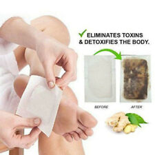 50Pcs Premium Ginger Detox Foot Pads Organic Herbal Cleansing Detox Pads T