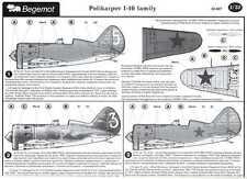 Begemot Decals 1/32 Russian Polikarpov I-16 Family