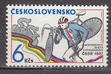 CZECHOSLOVAKIA 1987**MNH SC# 2640 World Cyclocross
