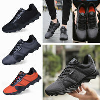 Casual Men Sport Trail Running Shoes Sneakers Mesh Breathable Tennis Sneakers