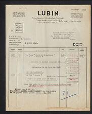 """PARIS (VIII°) PARFUMERIE & PRODUITS COSMETIQUES """"Parfum LUBIN"""" en 1948"""