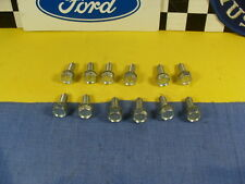 NOS 65 66 67 68 69 >Ford Mustang Mercury Shelby GT Aluminum Valve Cover Bolts