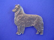 Maybe a Border Collie standing pin #75A Herding dog jewelry by Cindy A. Conter
