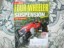 FOUR WHEELER 12/2010~REMOTE ADJUST SHOCKS~SPECIAL SUSPENSION ISSUE~CHEROKEE XJS