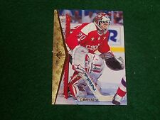 jim carey (washington capitals-goalie) 1994/95 upper deck (sp) rookie card #128