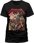 Official Metallica - Four Horsemen - Men's Black T-Shirt IMPORT